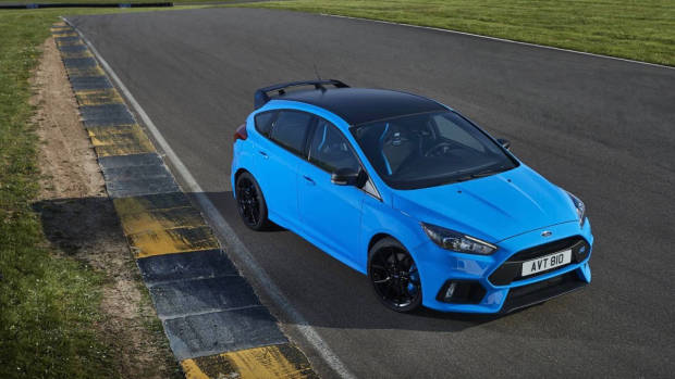 2017 Ford Focus RS limited edition front static high