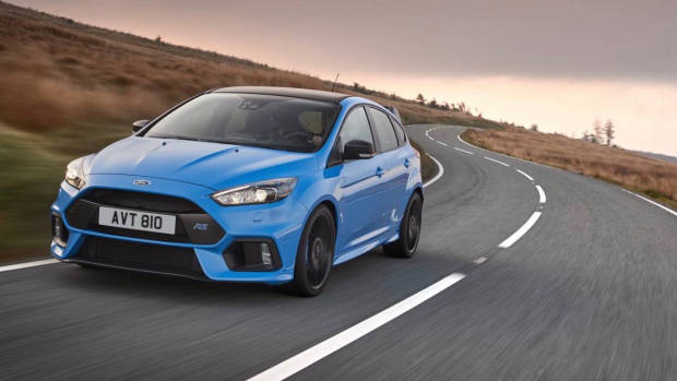 2017 Ford Focus RS limited edition front