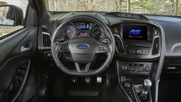 2017 Ford Focus RS limited edition interior