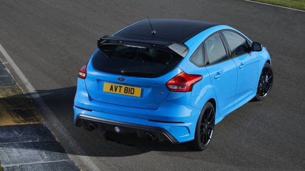 2017 Ford Focus RS limited edition rear