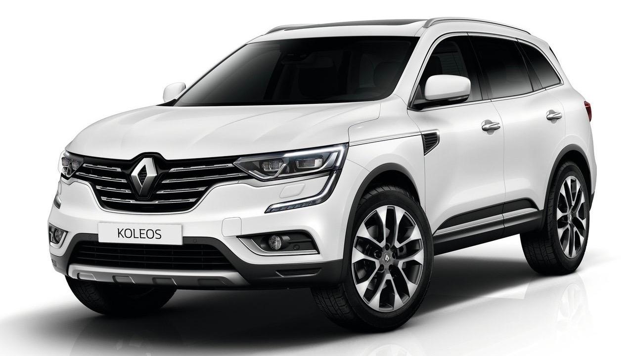 2017 Renault Koleos white front