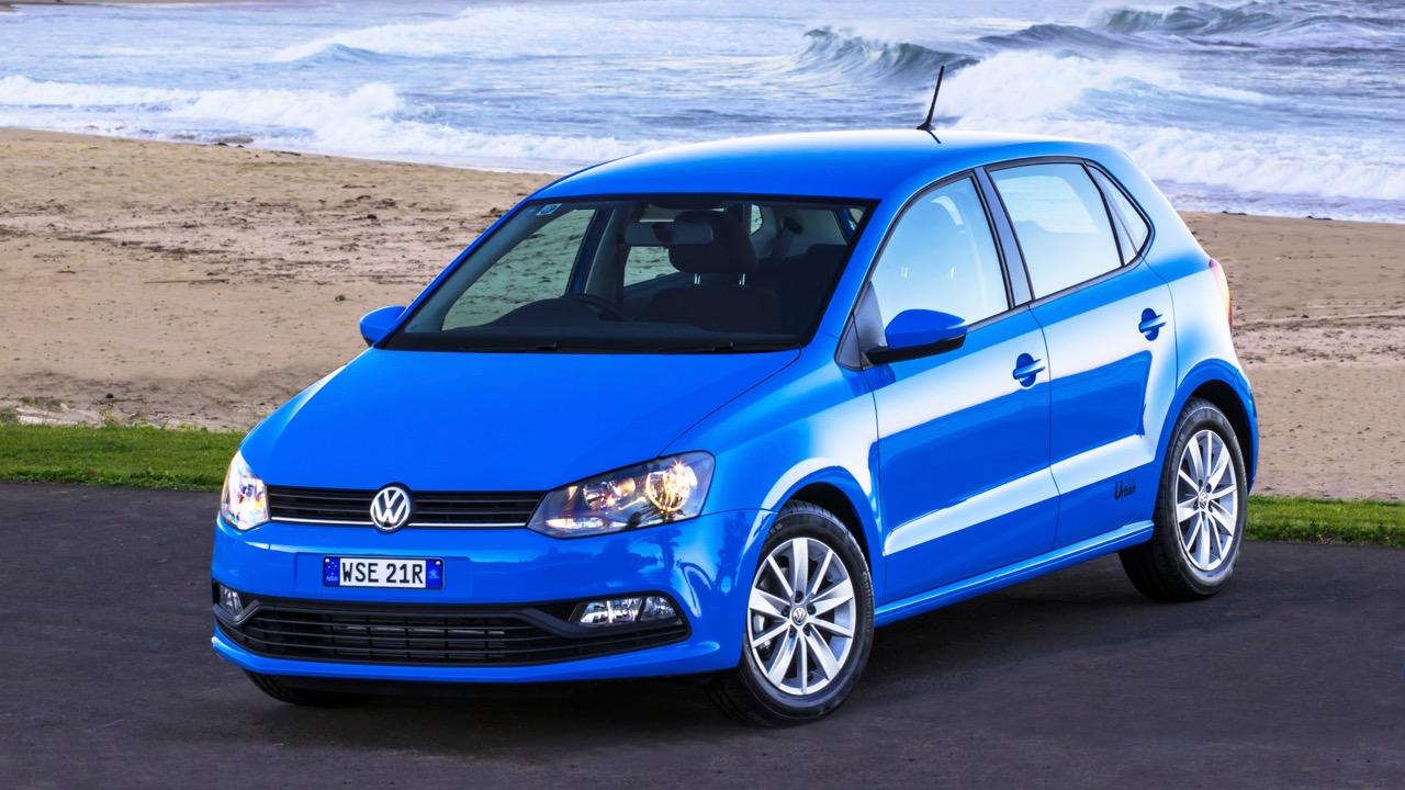 2017 Volkswagen Polo Urban Cornflower Blue Front End