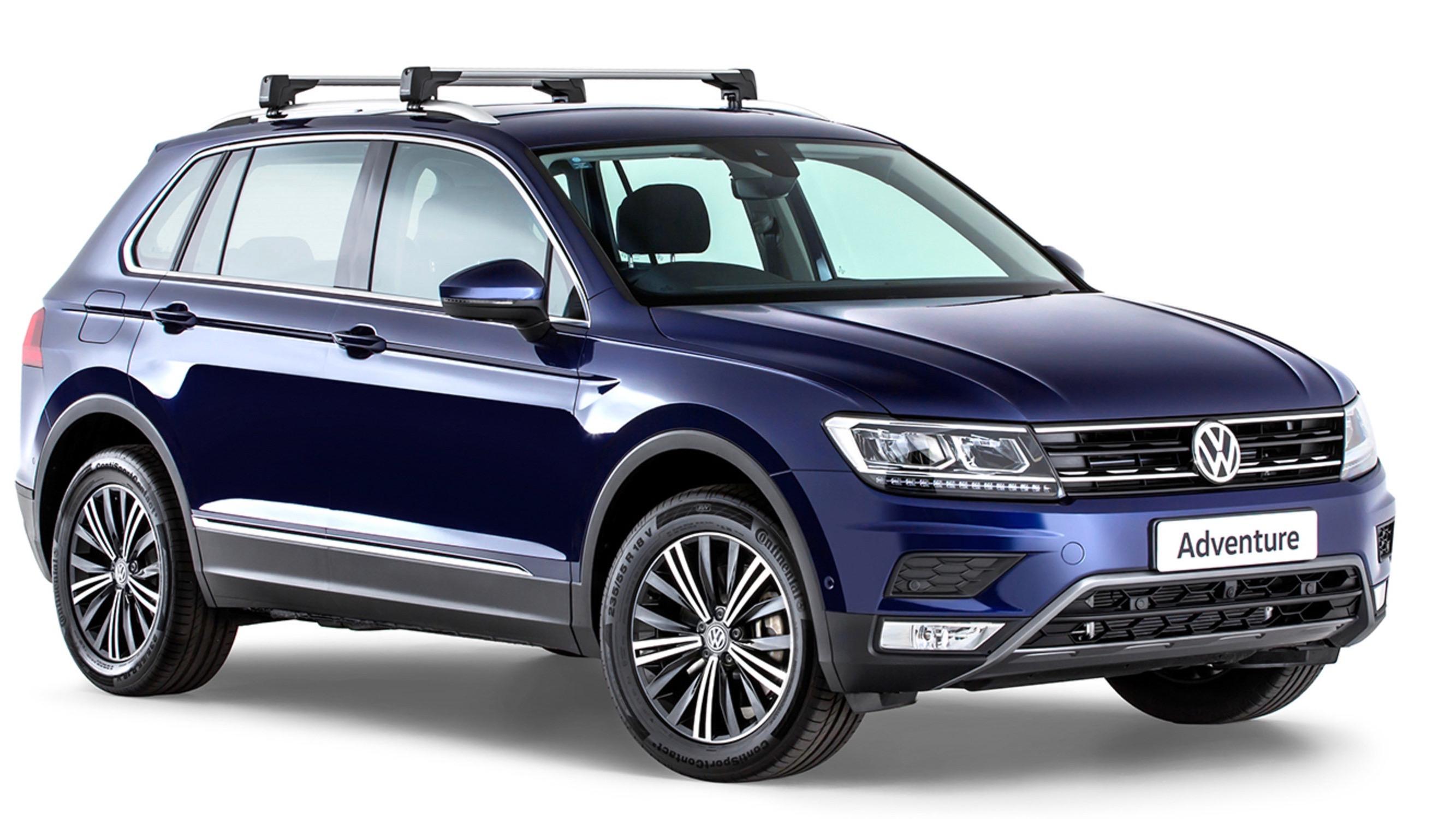2017 Volkswagen Tiguan Advanture Atlantic Blue front
