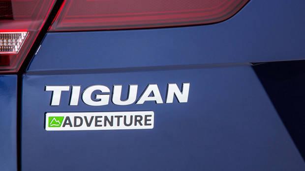 2017 Volkswagen Tiguan Advanture badge