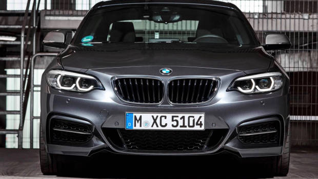 2018 BMW 2 Series grey front