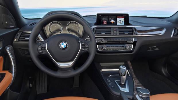 2018 BMW 2 Series interior Cognac