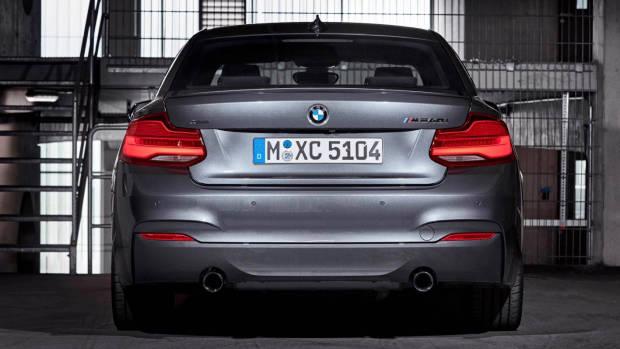 2018 BMW 2 Series rear