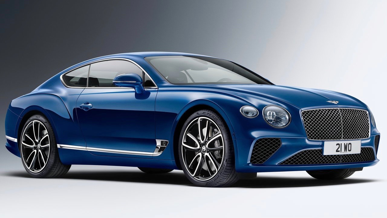 2018 Bentley Continental GT front side