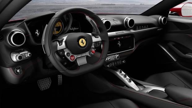 2018 Ferrari Portofino dashboard