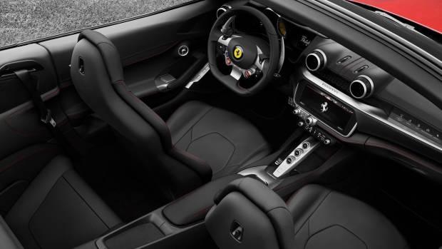 2018 Ferrari Portofino interior overhead