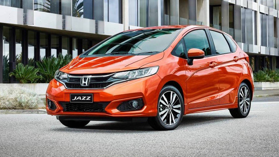 2018 Honda Jazz Phoenix Orange front