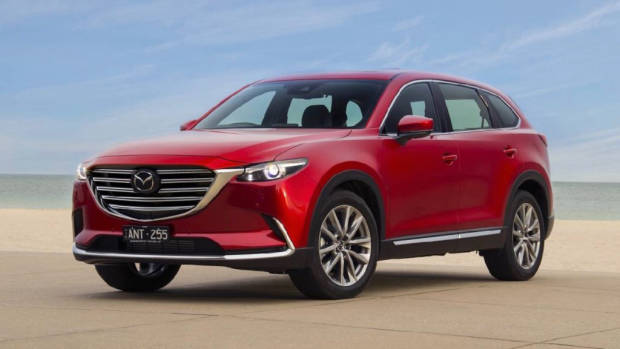 2018 Mazda CX-9 Soul Red Crystal front right