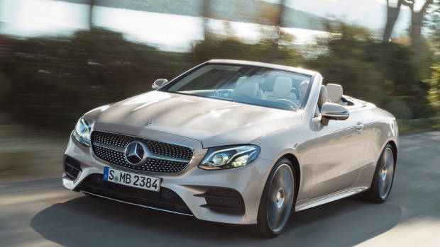 2018 Mercedes-Benz E-Class cabriolet front right