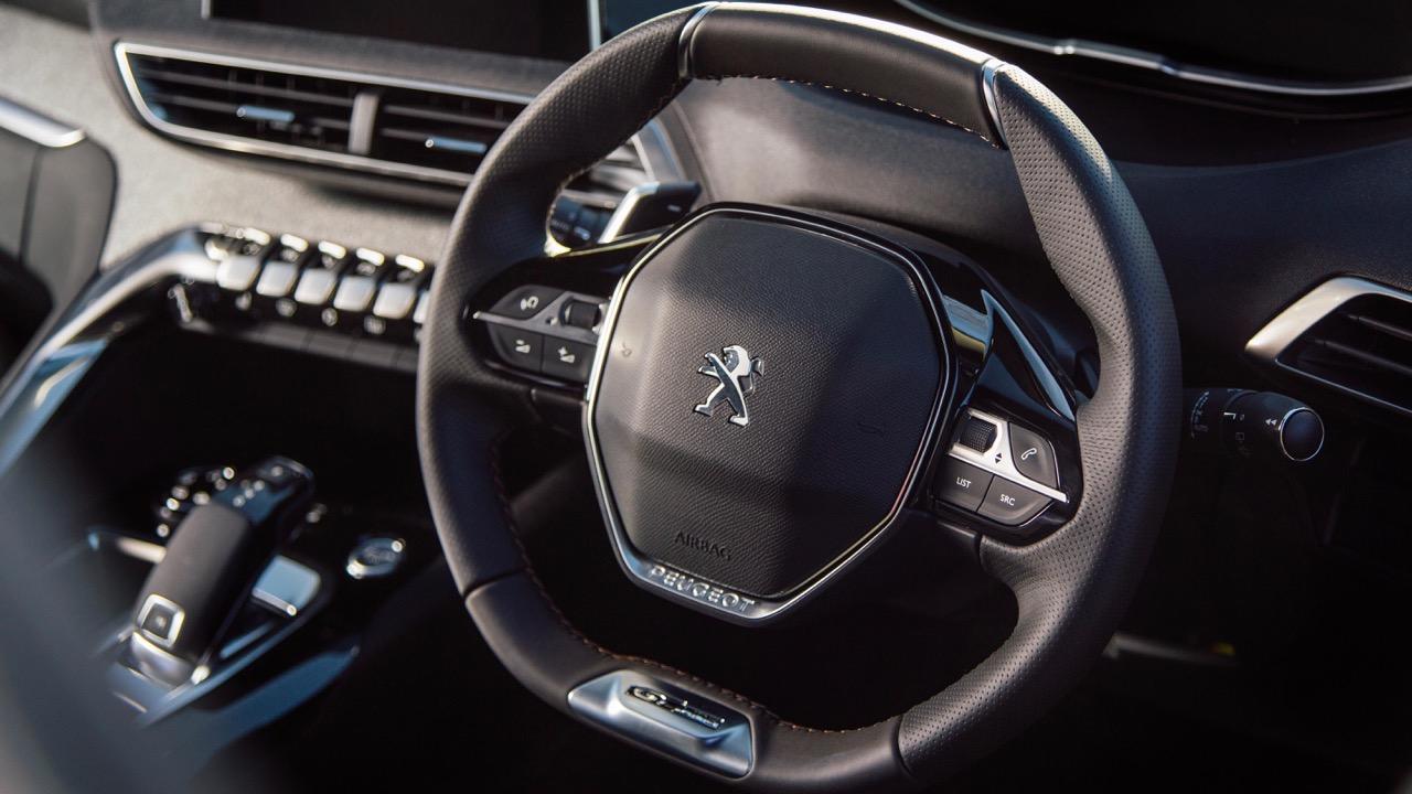 2018 Peugeot 3008 GT Line Steering Wheel
