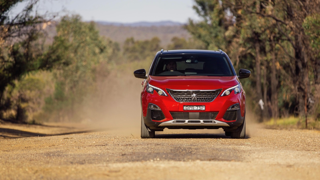 2018 Peugeot 3008 GT Line Ultimate Red Grip Control Off Road