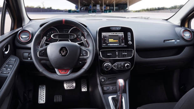 2018 Renault Clio R.S. cabin