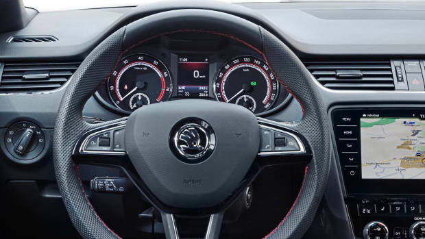 2018 Skoda Octavia RS 245 interior