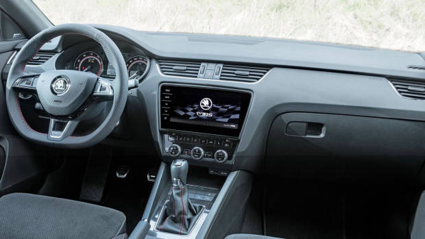2018 Skoda Octavia RS interior