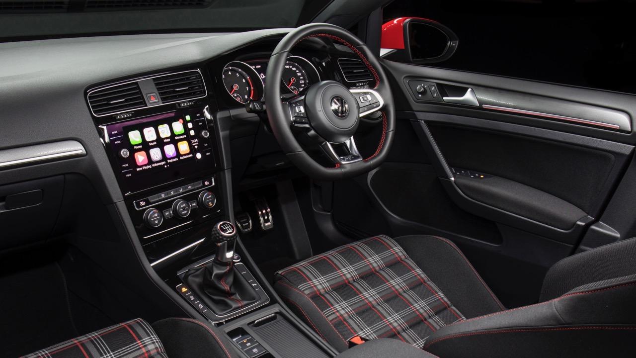 2018 Volkswagen Golf GTI Mk 7.5 Interior Tartan