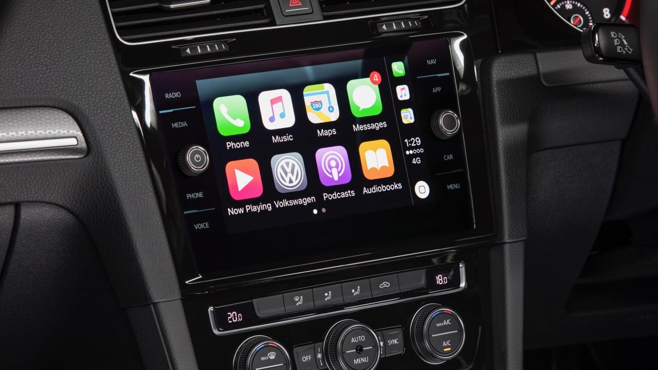 2018 Volkswagen Golf GTI Mk 7.5 Touchscreen