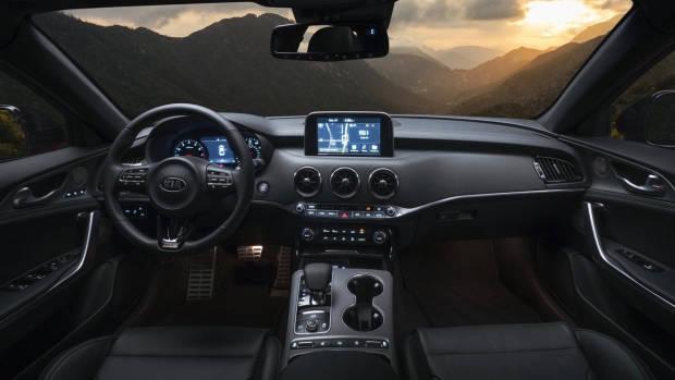 2017 Kia Stinger GT interior