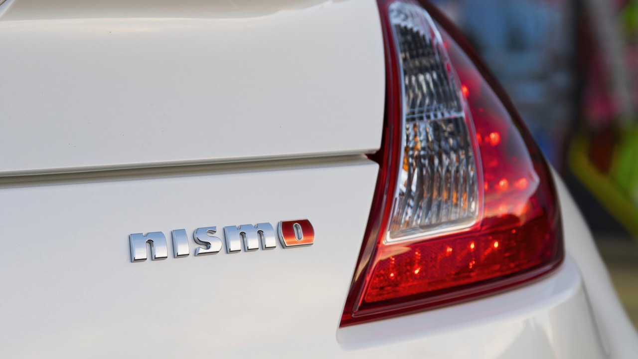 2017 Nissan 370Z NISMO Shiro White Badging