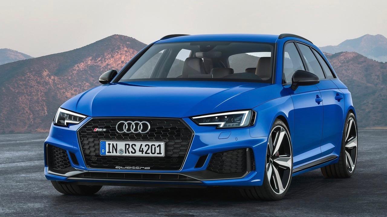 2018 Audi RS4 Avant Nogaro Blue front