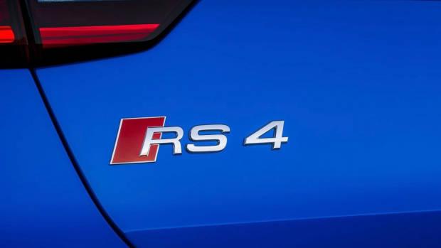 2018 Audi RS4 Avant rear badge