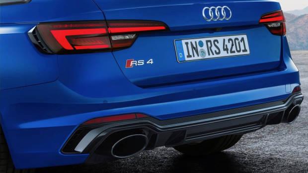 2018 Audi RS4 Avant rear diffuser
