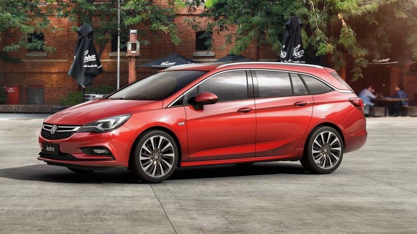 2018 Holden Astra Sportwagon red