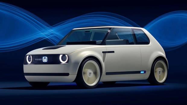 2018 Honda Urban EV concept front side