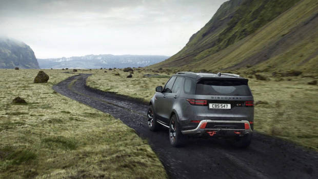 2018 Land Rover Discovery SVX rear