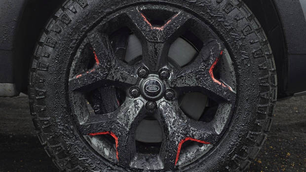 2018 Land Rover Discovery SVX wheel