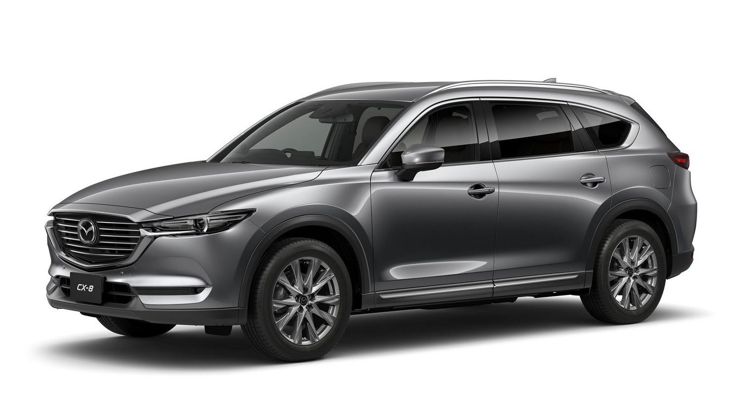 2018 Mazda CX-8 grey front side