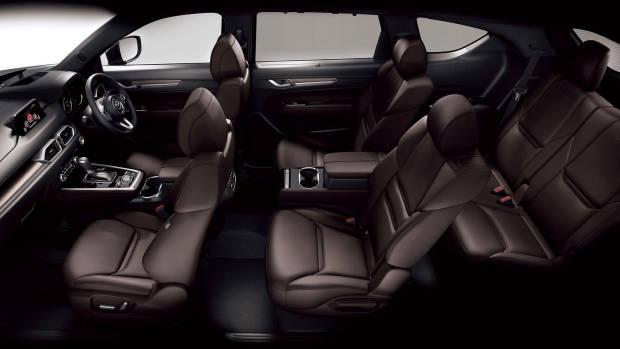 2018 Mazda CX-8 six-seat layout