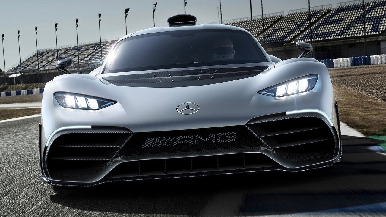 2018 Mercedes-AMG Project One front
