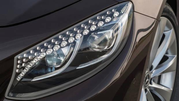 2018 Mercedes-AMG S-Class cabriolet brown headlight