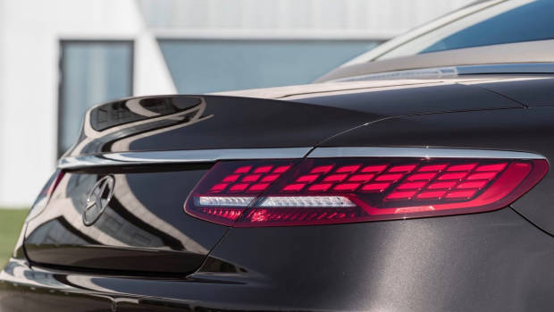 2018 Mercedes-AMG S-Class cabriolet brown tailight