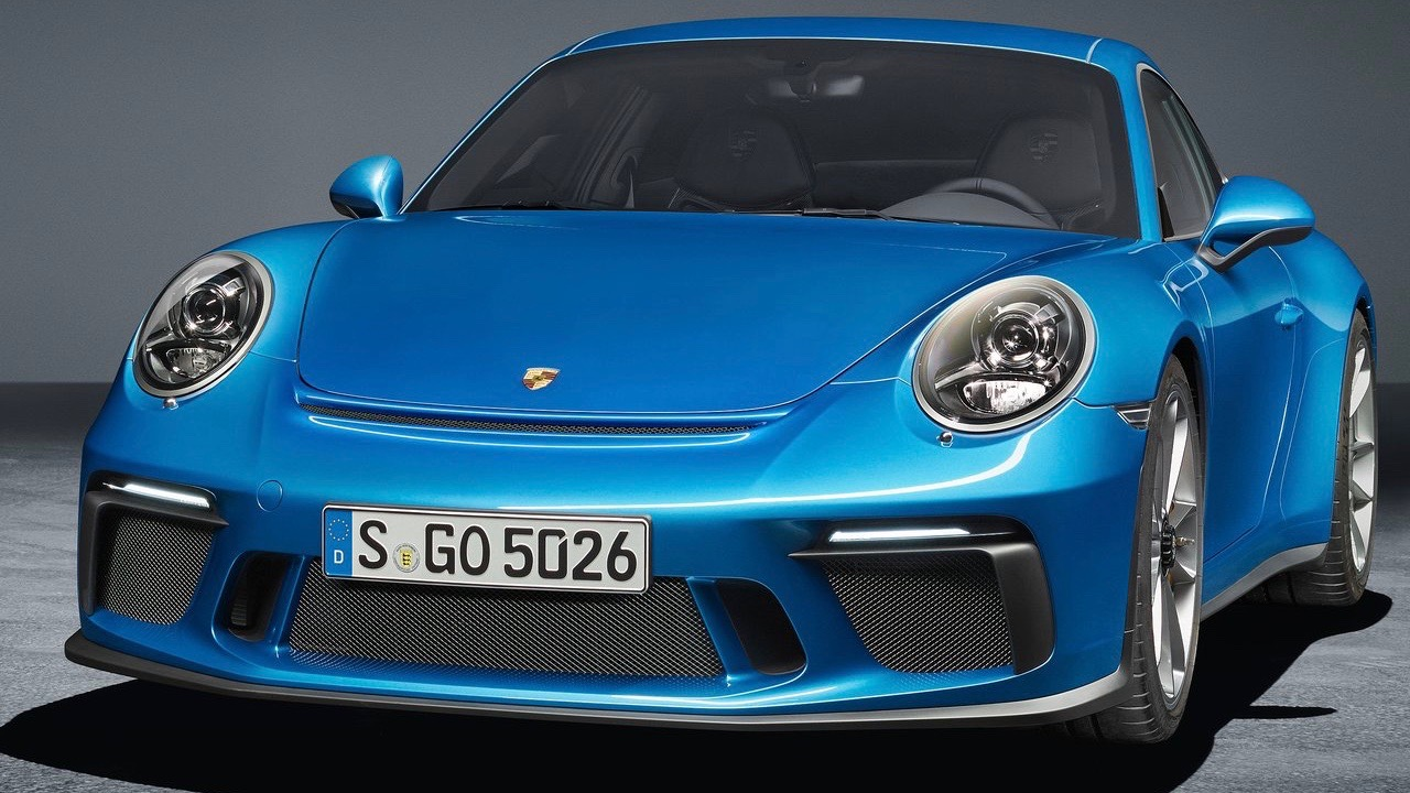 2018 Porsche 911 GT3 Touring Package front