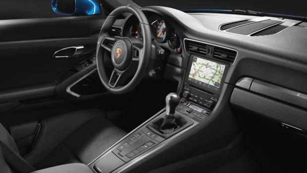 2018 Porsche 911 GT3 Touring Package interior