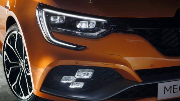 2018 Renault Megane RS front DRL