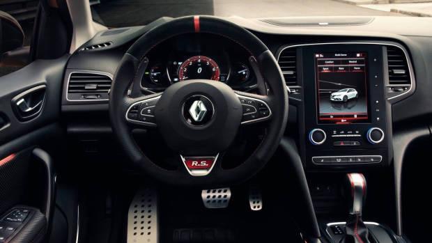 2018 Renault Megane RS interior