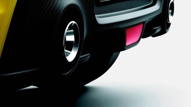 2018 Suzuki Swift Sport rear diffuser
