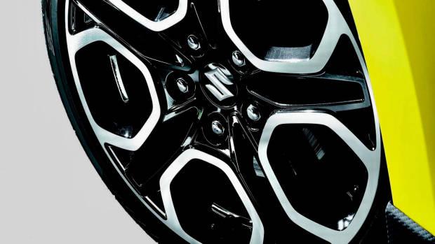2018 Suzuki Swift Sport wheels