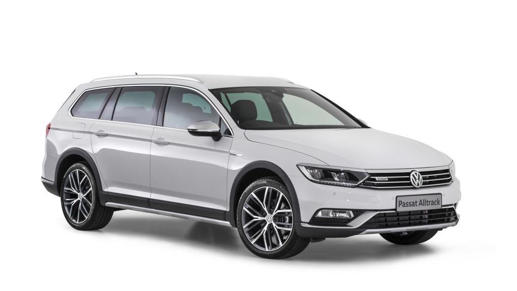 2018 Volkswagen Passat Alltrack Wolfsburg Edition Pure White front