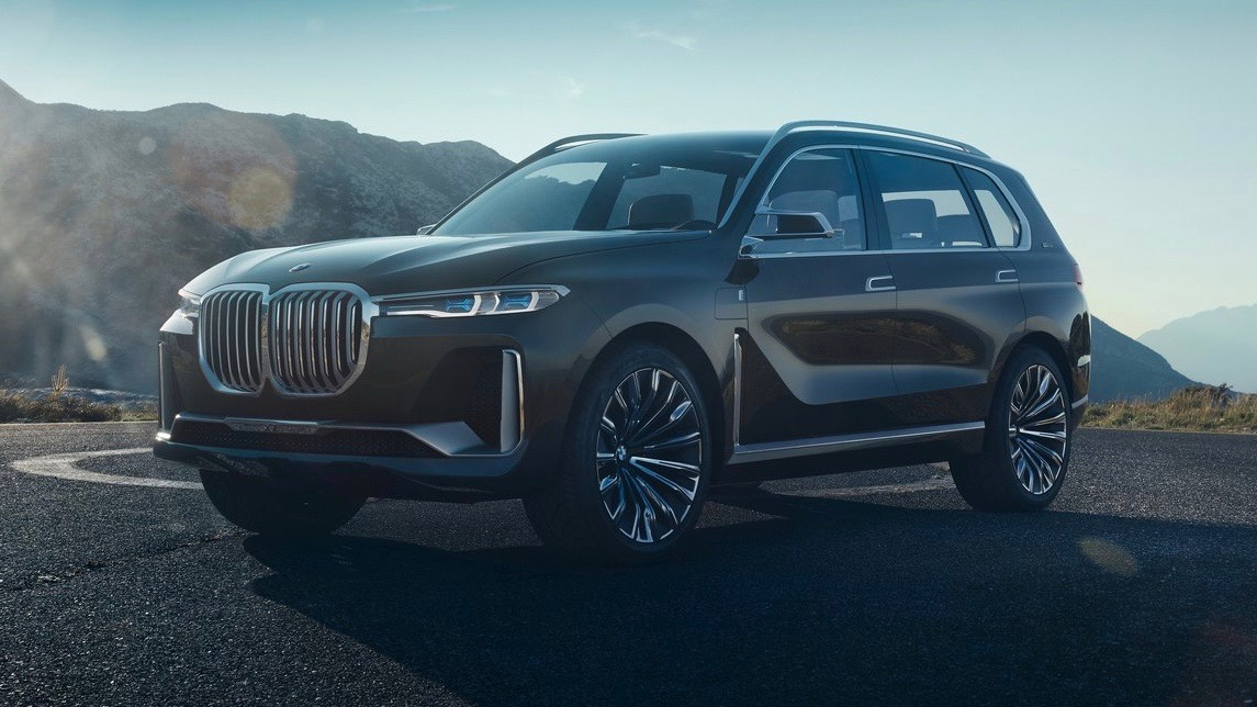 BMW X7 iPerformance concept brown front