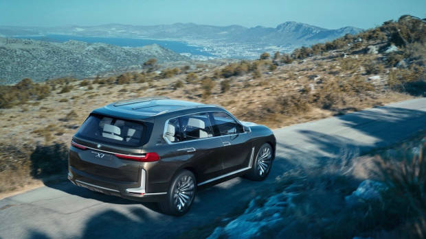 BMW X7 iPerformance concept rear