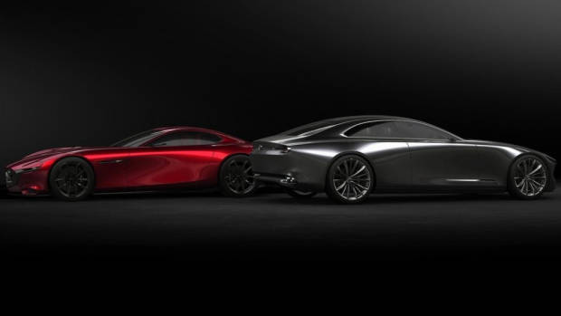 2017 Mazda Vision Coupe + RX-Vision