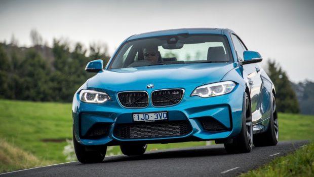 2018 BMW M2 LCI Long Beach Blue Front End