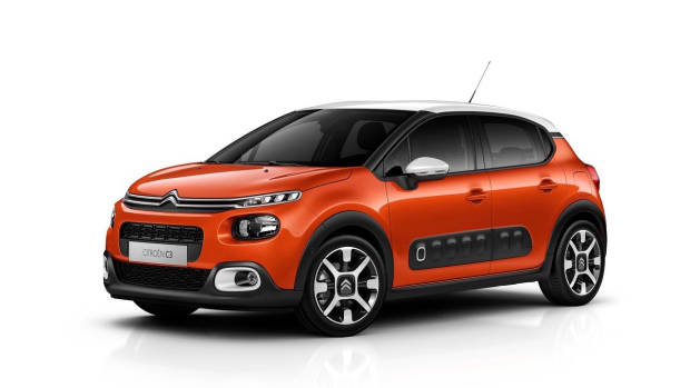 2018 Citroen C3 orange front side